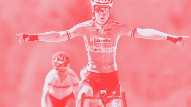 Anna Van Der Breggen wins Fleche Wallone