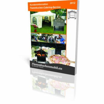 Broschuere Flammkuchen-Catering-Service