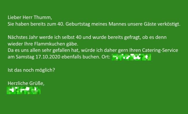 bild, referenz und anfrage fuer termin am 17.10.2020