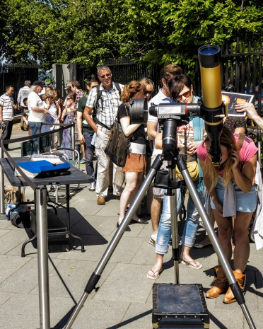 Solar Observing at the ROG
