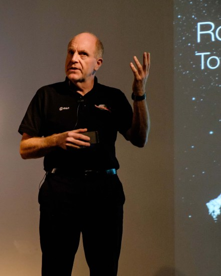 Professor Mark McCaughrean discusses the Rosetta programme