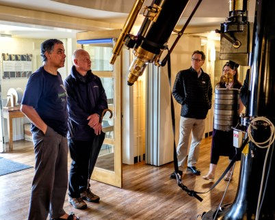 Francisco talks about the Fry Refractor and its renovation