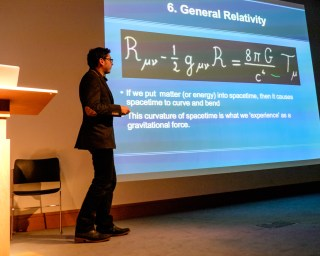 Paul Abel discusses General Relativity