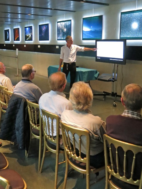 Graham Dolan gives a talk to the Flamsteed History Group