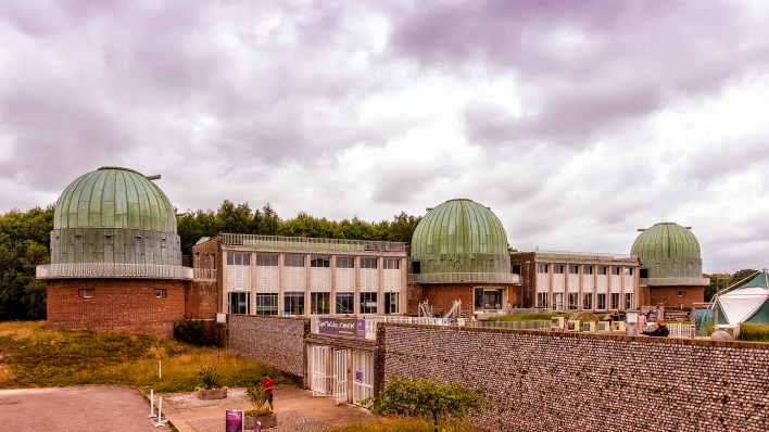 Domes A, B and C at Observatory Science Centre