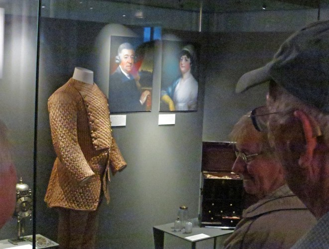 The Maskelynes and Nevil's suit