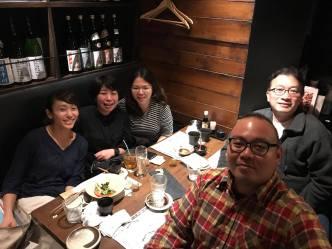 With Noriko Takasugi and Ena