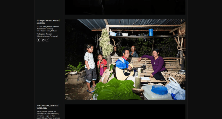 My Photo featured on Guardian