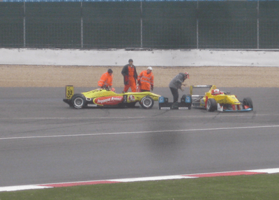 F3 first corner action