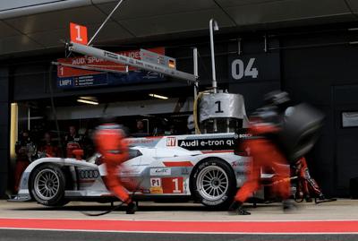 Audi pits