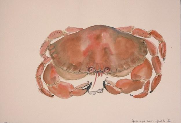 'Squiffy-Eyed Crab'