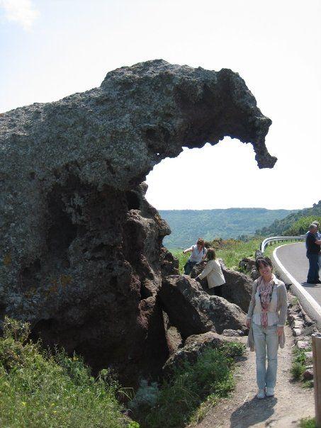 Roccia dell'Elefante a Sedini