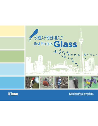 Toronto Bird-Friendly Best Practices Glass