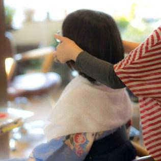 袴着付け|青葉区、藤が丘、美容室、フラップヘアー