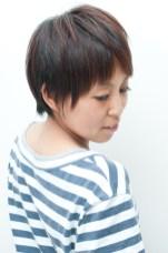 立体アシメカット・ヘアカラー 横浜市、青葉区、藤が丘、美容室、フラップヘアー