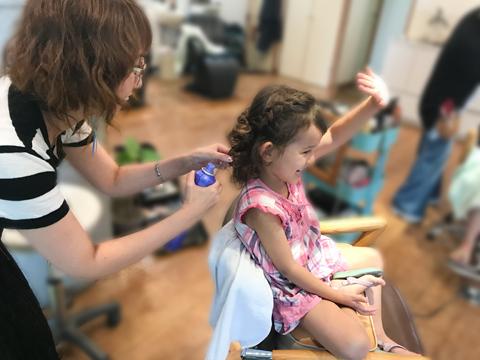 お子様セット,アップ,アレンジヘアー,フラップヘアー,藤が丘,美容室