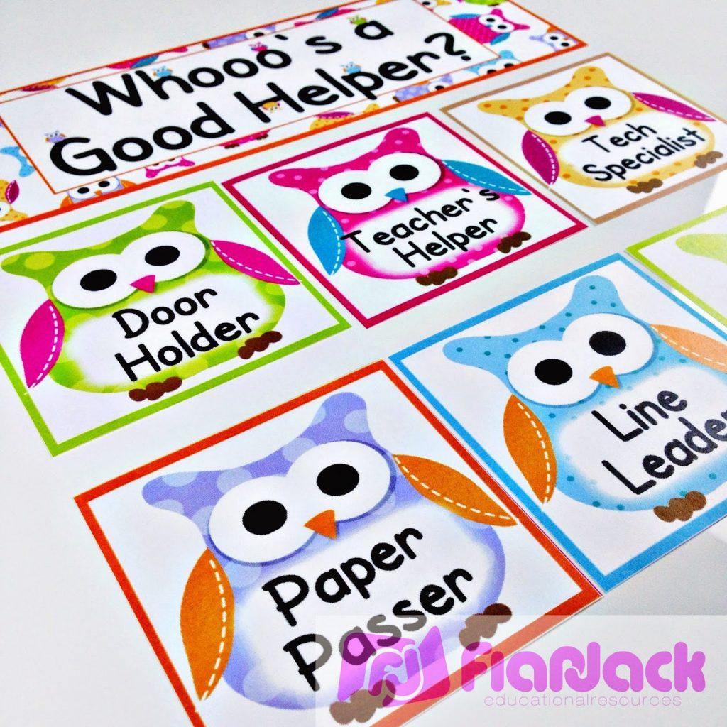 Lots Of Owls Classroom Theme Freebies Ideas Amp Pack