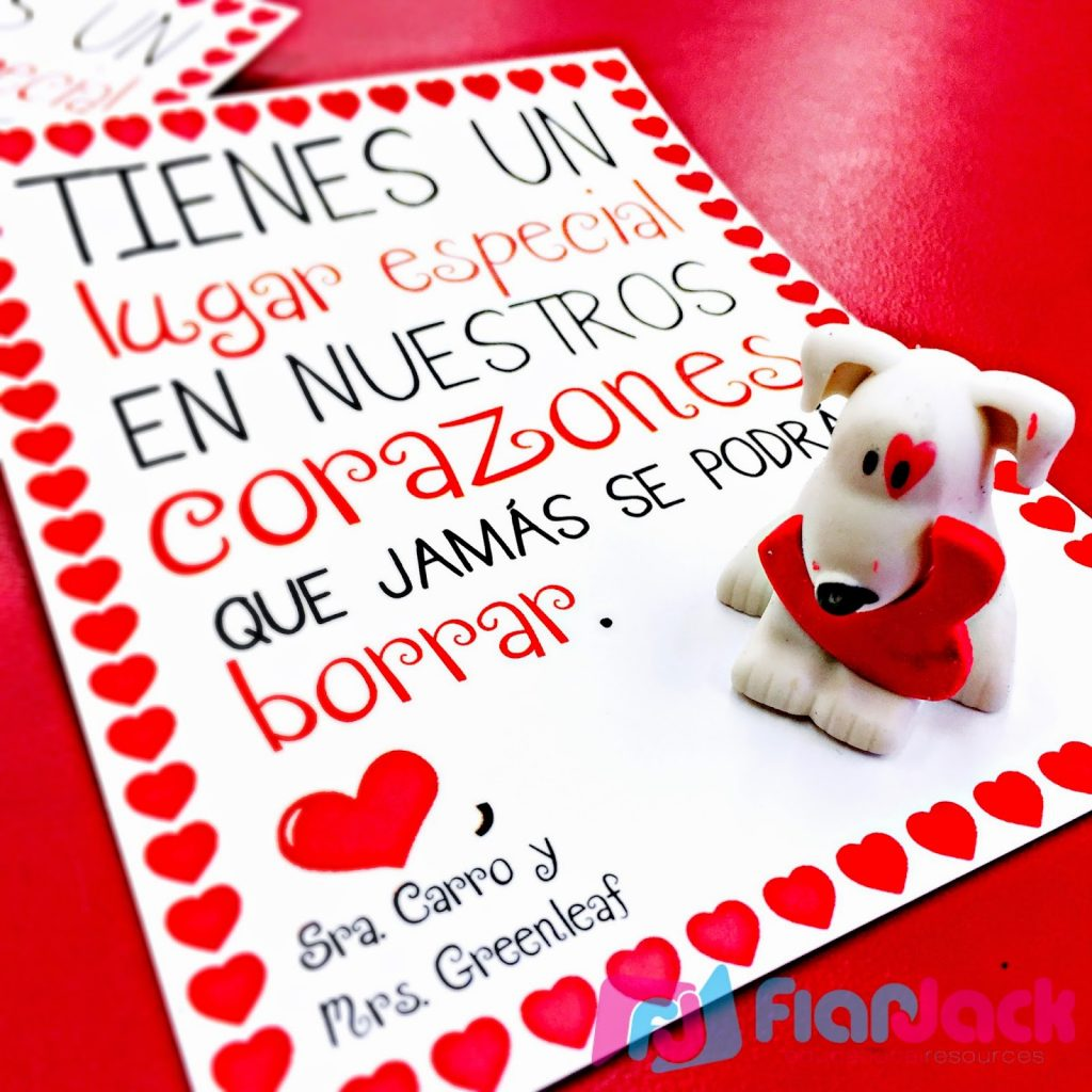 Valentine S Day Cards Freebie In Spanish And English