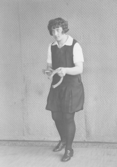 1929, horseshoe champion. KSU Libraries, Special Collections and Archives.