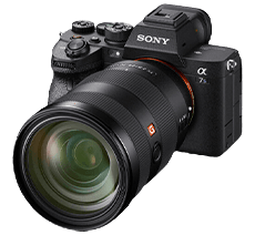 Kamera a7sIII with lens_mbt