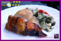 """I love """"Laing"""" served as side dish to Floring's Grilled Chicken"""
