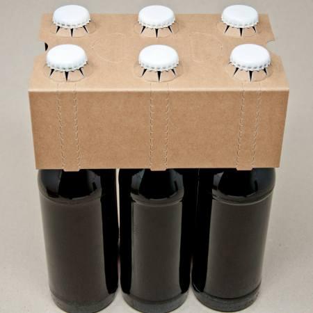 6er Flaschenträger Naturkraft Karton 0,33 Liter Longneck Flaschen
