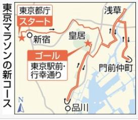 140東京マラソン新コース