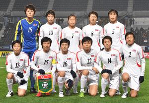 93E1サッキー北朝鮮女子
