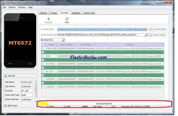 How To Flash Stock Rom Firmware On BLU Dash 5.0 D410i