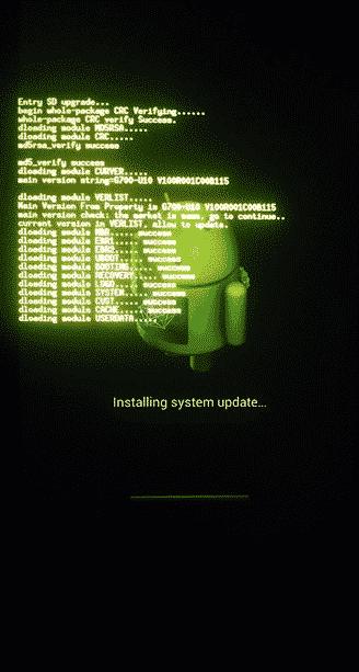 Huawei G700 Card Update Process - Huawei Ascend D1 LTE