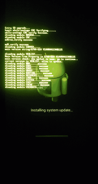 Huawei G700 Card Update Process - Huawei P9 Lite VNS-L31
