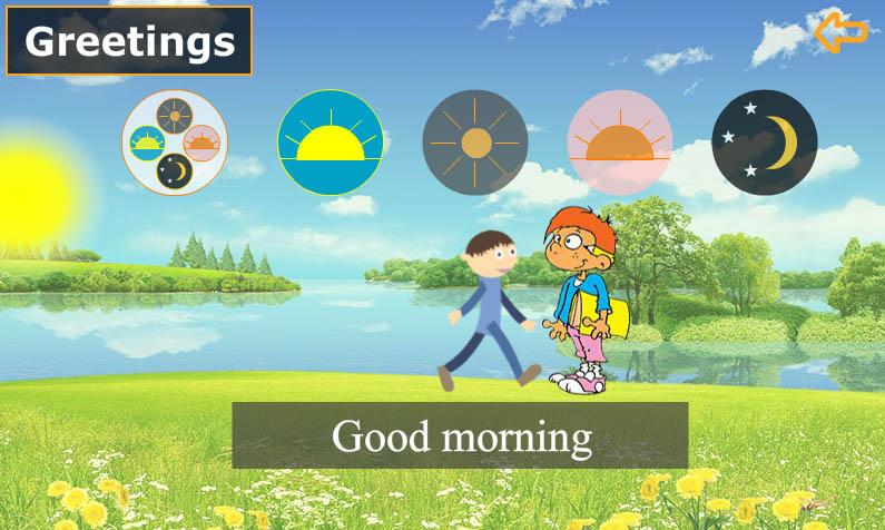 انجليزي-الصف-الأول-التحيات-Good-morning
