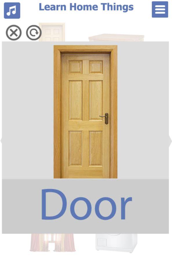 تطبيق-تعليم-اشياء-البيت-بالانجليزي-door