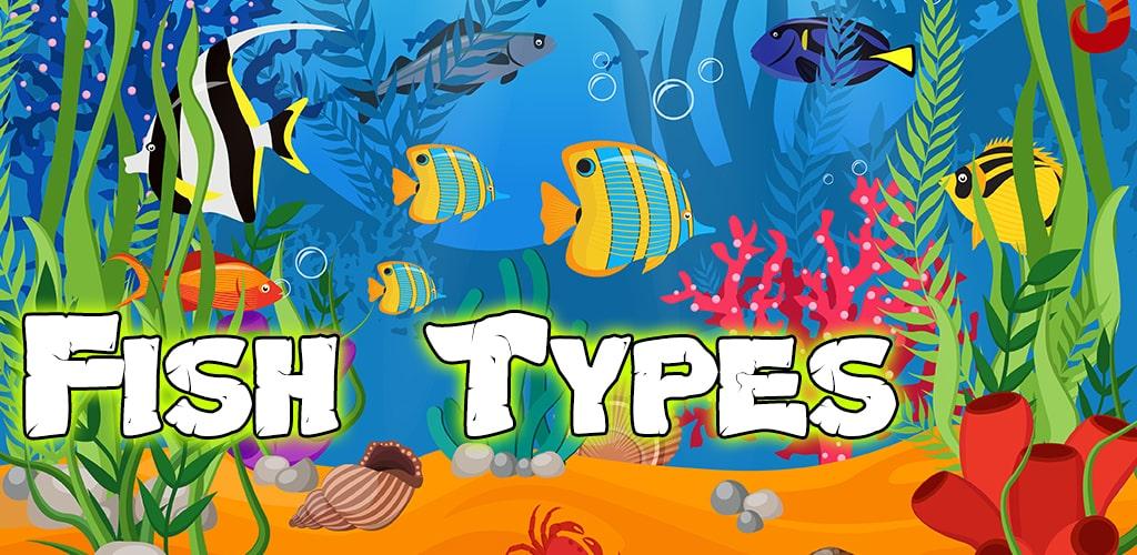 انواع الاسماك و انواع اسماك الزينة و أنواع السمك البحري