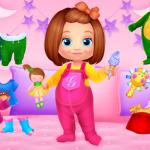 لعبة تلبيس الطفل الصغير-العاب اطفال بنات