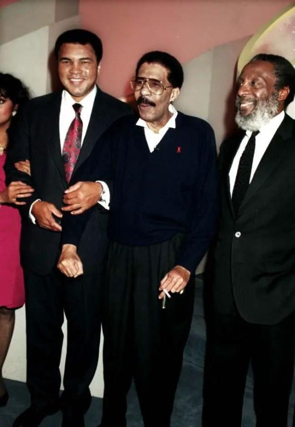 In 1978 Muhammed Ali Boxed Marvin Gaye, Sammy Davis Junior ...