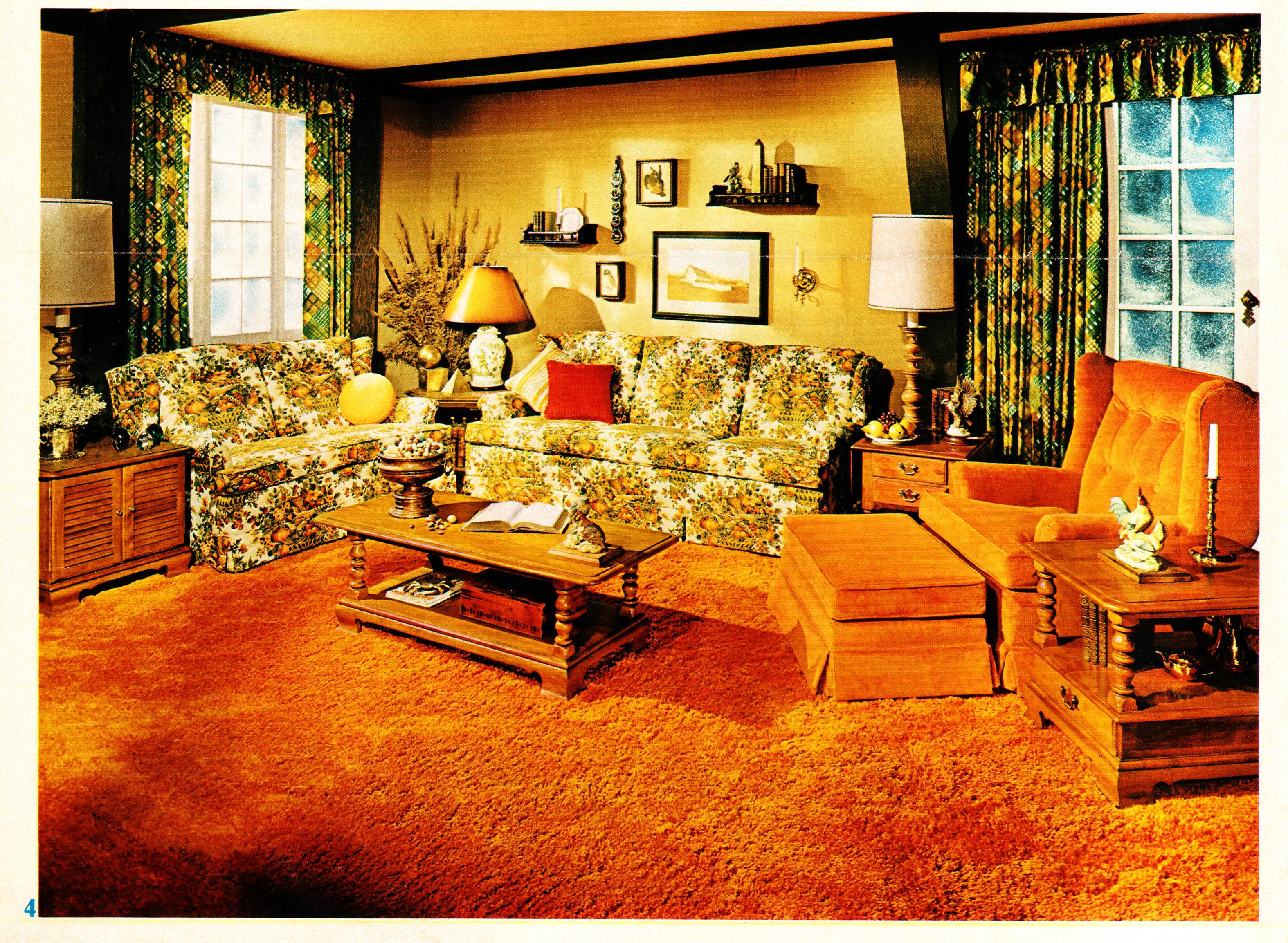 Interior Desecrations: A 1975 Home Furnishing Catalog on Pictures Room Decor  id=63155