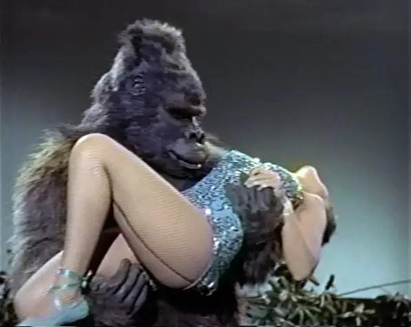 Ape fucks girl