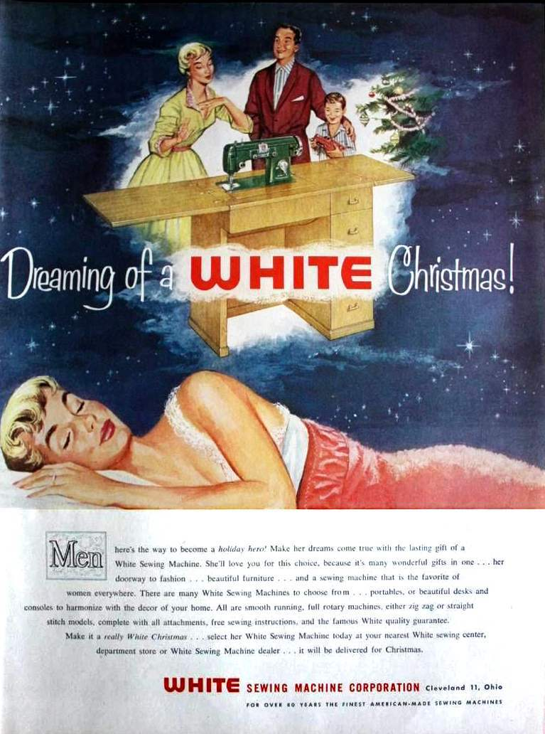 Mad Sexist And Above All Brilliant Vintage Christmas Ads