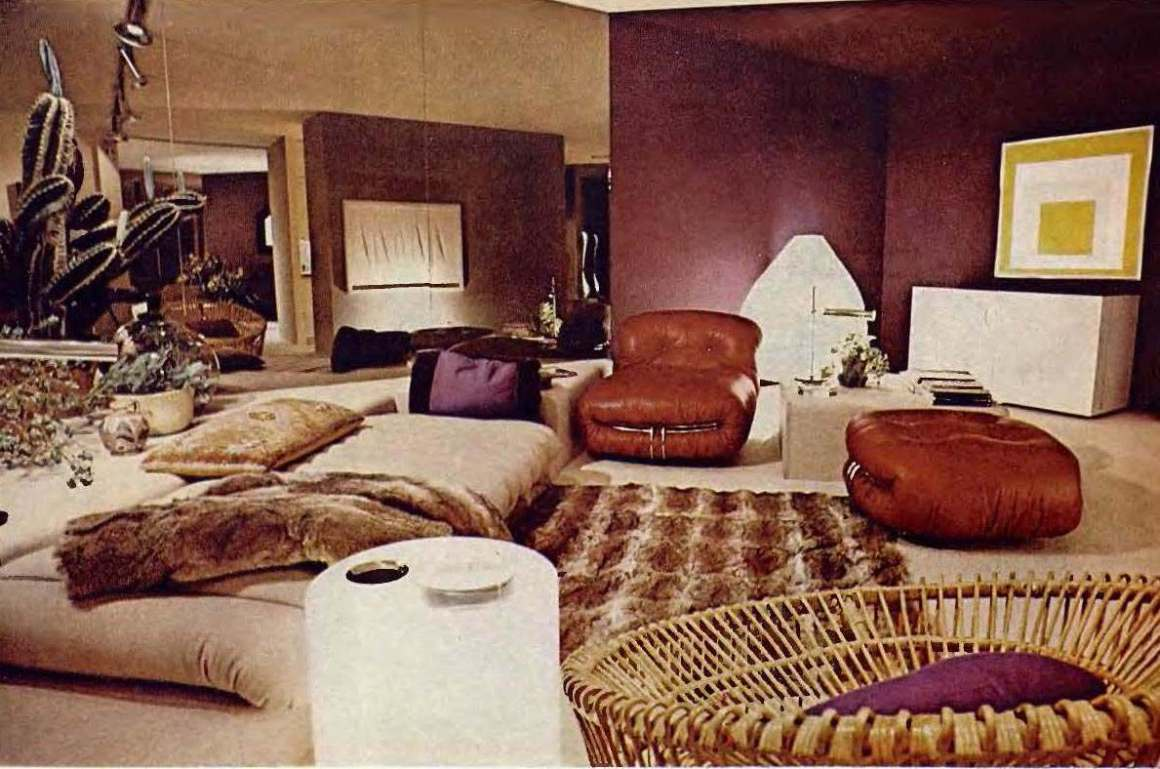 "when living rooms went brown: ""earth toning"" of american homes in"