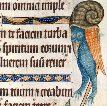 Luttrell Psalter, England ca. 1325-1340 British Library, Add 42130, fol. 185r
