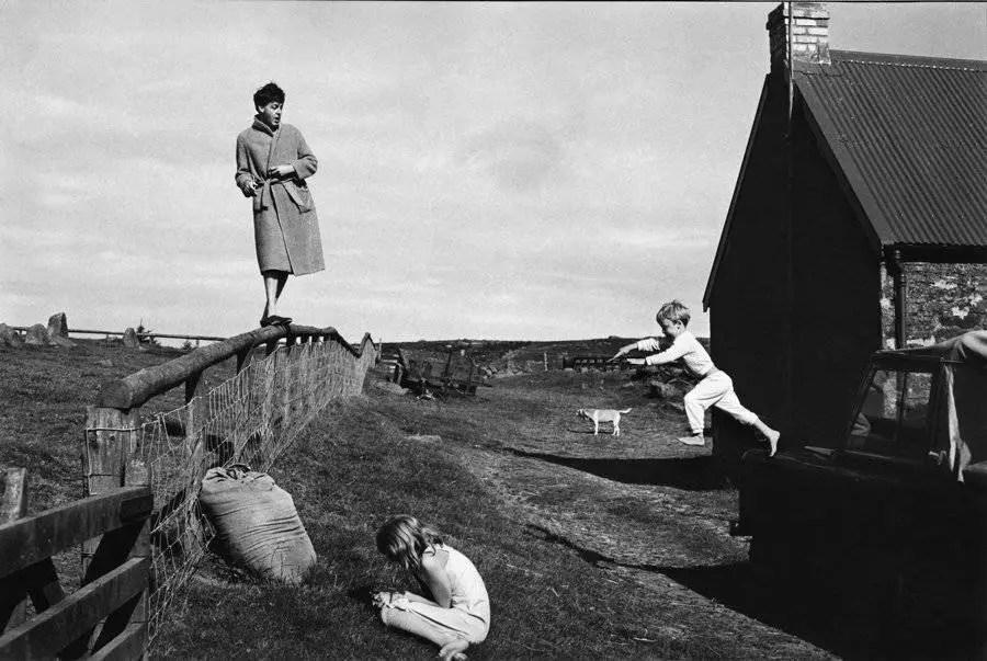 Paul, Stella and James, Scotland, 1982