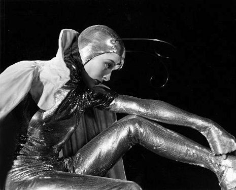 Katharine Hepburn Became A Sexy Silver Moth For
