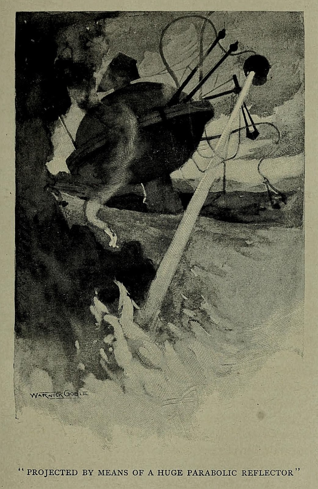 The World S First Illustrations For H G Wells The War Of