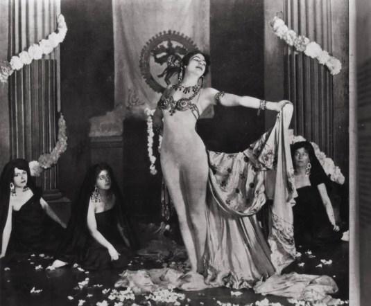 Mata Hari naked 1905
