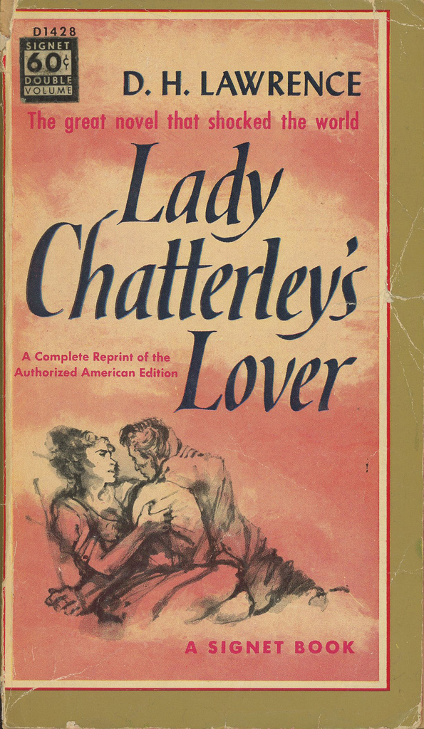 d-h-lawrence-lady-chatterleys-lover-signet-double-volume-d1428-published-1946-10th-printing-1958