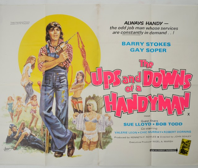 Ups And Downs Of A Handyman Cinema Quad Movie Poster  Jpg