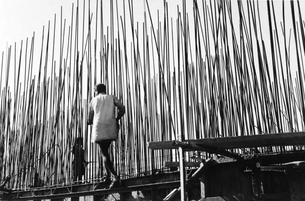 Ouvriers, Secrétariat (architecte : Le Corbusier), Chandigarh, Inde 1955 Lucien Hervé