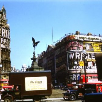 Colour Snapshots of London in the 1950s