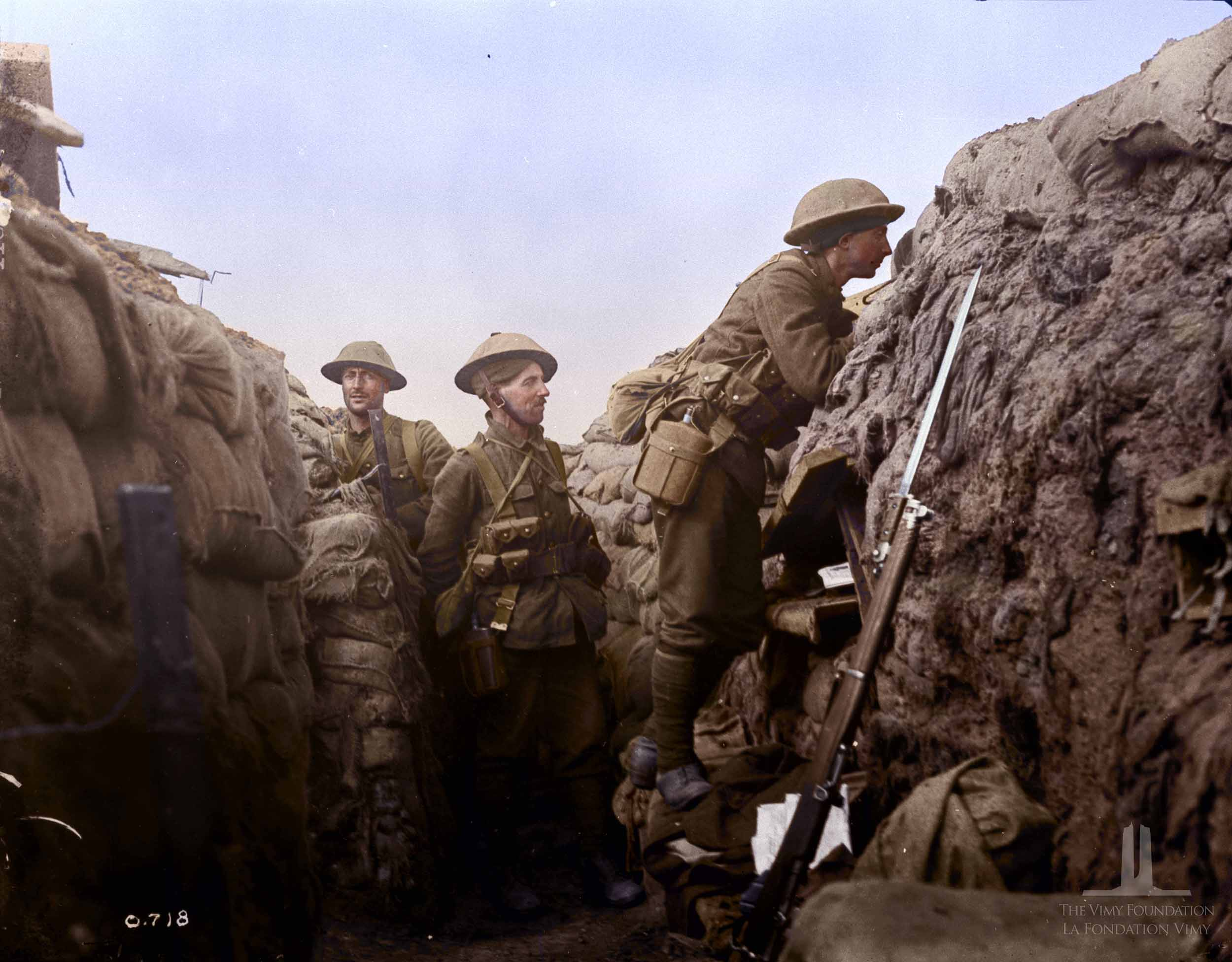 World War 1 In Color Canada S War
